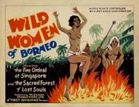 Wild Women of Borneo - 11 x 17 Movie Poster - Style A