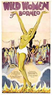 Wild Women of Borneo - 11 x 17 Movie Poster - Style B