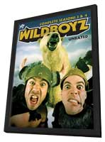 Wildboyz - 11 x 17 TV Poster - Style A - in Deluxe Wood Frame