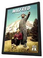 Wilfred (TV) - 11 x 17 TV Poster - Style B - in Deluxe Wood Frame