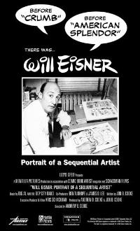 Will Eisner: Portrait of a Sequential Artist - 43 x 62 Movie Poster - Bus Shelter Style A