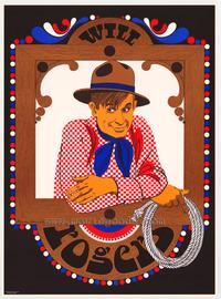 Will Rogers - Art Print - 20.5 x 28 - Elaine Hanelock Style A