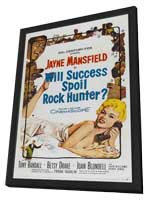 Will Success Spoil Rock Hunter? - 11 x 17 Movie Poster - Style B - in Deluxe Wood Frame
