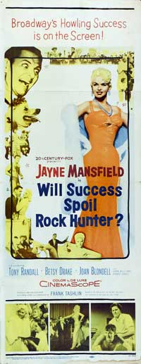 Will Success Spoil Rock Hunter? - 14 x 36 Movie Poster - Insert Style A