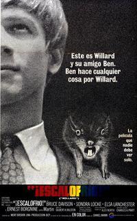 Willard - 11 x 17 Movie Poster - Italian Style A