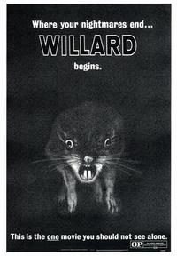 Willard - 43 x 62 Movie Poster - Bus Shelter Style A