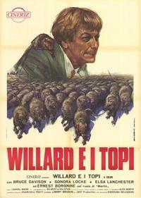 Willard - 11 x 17 Movie Poster - Italian Style B