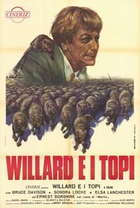 Willard - 27 x 40 Movie Poster - Italian Style A