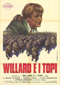 Willard - 39 x 55 Movie Poster - Italian Style A