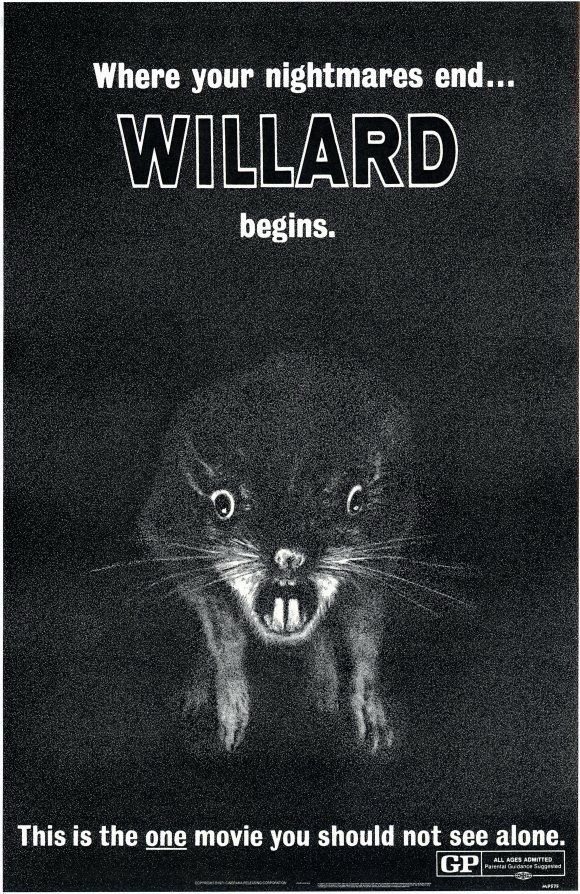 Willard Movie Posters From Movie Poster Shop