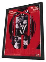 William Klein Retrsospective - 11 x 17 Movie Poster - French Style A - in Deluxe Wood Frame