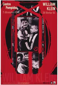 William Klein Retrsospective - 11 x 17 Movie Poster - French Style A