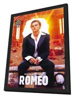 William Shakespeare's Romeo and Juliet - 11 x 17 Movie Poster - Style D - in Deluxe Wood Frame