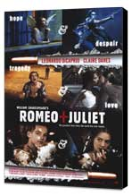 William Shakespeare's Romeo and Juliet - 27 x 40 Movie Poster - Style A - Museum Wrapped Canvas