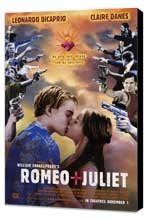 William Shakespeare's Romeo and Juliet - 27 x 40 Movie Poster - Style C - Museum Wrapped Canvas