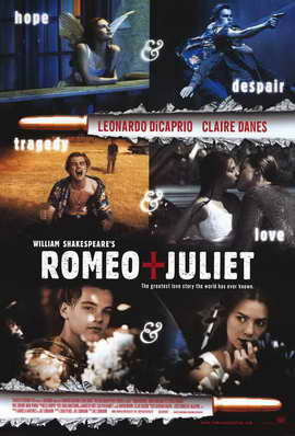 William Shakespeare's Romeo and Juliet - 11 x 17 Movie Poster - Style A