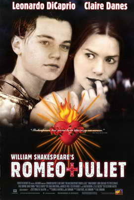 William Shakespeare's Romeo and Juliet - 11 x 17 Movie Poster - Style B