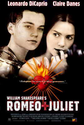William Shakespeare's Romeo and Juliet - 27 x 40 Movie Poster - Style B