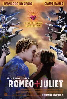 William Shakespeare's Romeo and Juliet - 27 x 40 Movie Poster - Style C