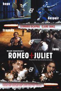 William Shakespeare's Romeo and Juliet - 11 x 17 Movie Poster - Style A - Museum Wrapped Canvas