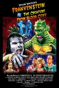 William Winckler's Frankenstein vs. the Creature from Blood Cove - 27 x 40 Movie Poster - Style B