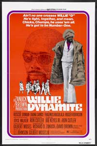 Willie Dynamite - 43 x 62 Movie Poster - Bus Shelter Style A