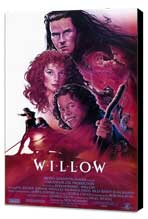 Willow - 27 x 40 Movie Poster - Style A - Museum Wrapped Canvas