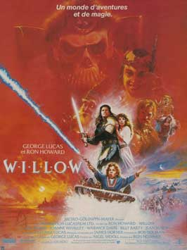 Willow - 11 x 17 Movie Poster - French Style A
