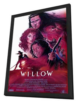 Willow - 11 x 17 Movie Poster - Style A - in Deluxe Wood Frame