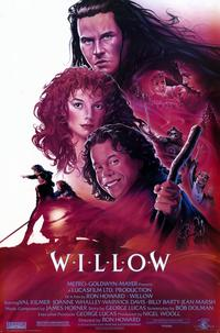 Willow - 11 x 17 Movie Poster - Style A - Museum Wrapped Canvas