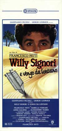 Willy Signori e vengo da lontano - 13 x 28 Movie Poster - Italian Style A