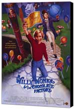 Willy Wonka & the Chocolate Factory - 11 x 17 Movie Poster - Style B - Museum Wrapped Canvas