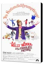 Willy Wonka & the Chocolate Factory - 27 x 40 Movie Poster - Style A - Museum Wrapped Canvas