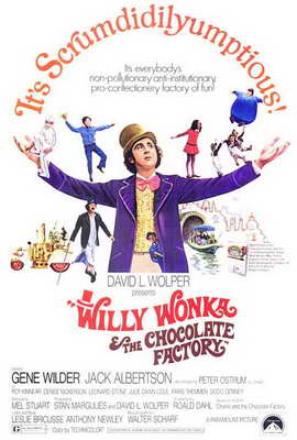 Willy Wonka & the Chocolate Factory - 27 x 40 Movie Poster - Style A