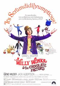 Willy Wonka & the Chocolate Factory - 43 x 62 Movie Poster - Bus Shelter Style A