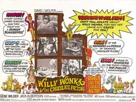 Willy Wonka & the Chocolate Factory - 30 x 40 Movie Poster UK - Style A