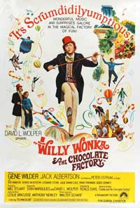 Willy Wonka & the Chocolate Factory - 11 x 17 Movie Poster - Australian Style A