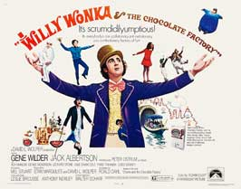 Willy Wonka & the Chocolate Factory - 22 x 28 Movie Poster - UK Style A