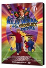Willy Wonka and the Chocolate Factory - 27 x 40 Movie Poster - Style A - Museum Wrapped Canvas