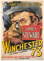 Winchester '73 - 27 x 40 Movie Poster - Italian Style A
