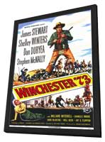 Winchester '73 - 11 x 17 Movie Poster - Style A - in Deluxe Wood Frame