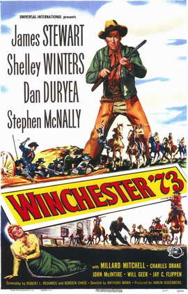 Winchester '73 - 11 x 17 Movie Poster - Style A