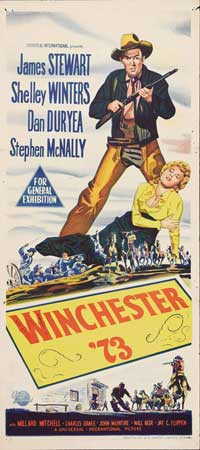 Winchester '73 - 13 x 30 Movie Poster - Australian Style A
