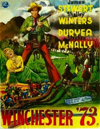 Winchester '73 - 11 x 17 Movie Poster - Belgian Style A