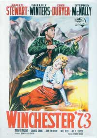 Winchester '73 - 11 x 17 Movie Poster - Italian Style B