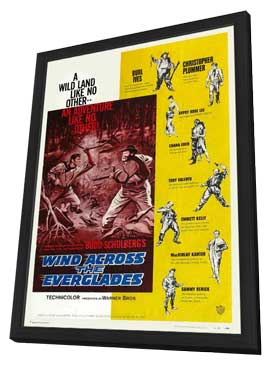 Wind Across the Everglades - 11 x 17 Movie Poster - Style A - in Deluxe Wood Frame