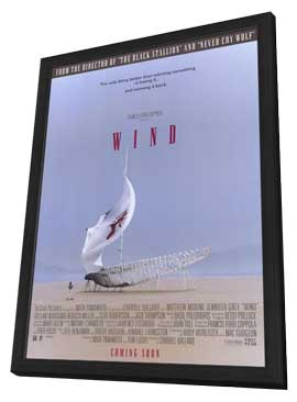 Wind - 27 x 40 Movie Poster - Style A - in Deluxe Wood Frame