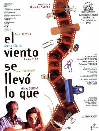 Wind With the Gone - 27 x 40 Movie Poster - Spanish Style A