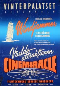Windjammer: The Voyage of the Christian Radich - 11 x 17 Movie Poster - Swedish Style A
