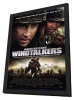 Windtalkers - 11 x 17 Movie Poster - Style B - in Deluxe Wood Frame